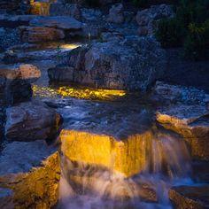 Atlantic Water Gardens LED Lighting