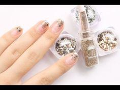 [폴라리스 베이직 6화] 글리터 네일아트 /Glitter nail art (English subtitles) - YouTube