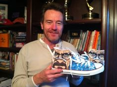 Walter White Painted Chuck Taylors   21 Awesome Breaking BadCrafts