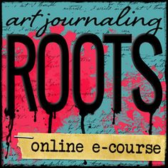 Art Journaling ROOTS: a 7-week journey into developing your own transformative art journaling practice. Learn how to let go of comparison, disempower the inner critic, open up for self-discovery, and relearn how to create with child-like freedom as we get messy with paint, crayons, collage, and more to help you develop your own art journaling style.