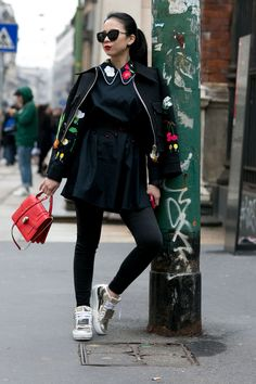 The Best of Milan Fashion Week Street Style 2015   Day 4   The Imprint