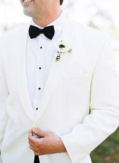 white dinner jacket   Virgil Bunao #wedding