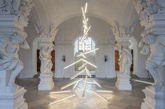 Belvedere, Vienna    Belvedere Christmas Tree 2015