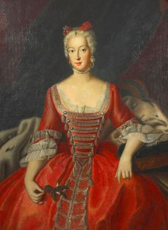 Prinzessin Wilhelmine Hohenzollern, Markräfin Brandenburg-Bayreth by Antoine Pesne (location unknown to gogm) From markfrm.blogspot.com:2014:10:11.html