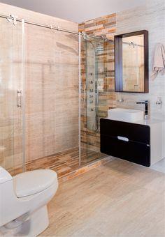 Mezcla de colores cálidos perfecta para un baño en clima frío #Corona inspira