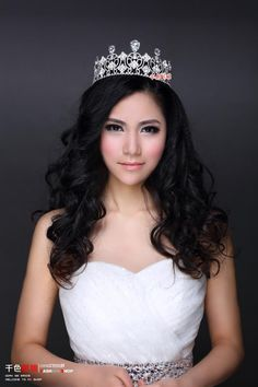 quinceanera hairstyles with tiara - Google Search