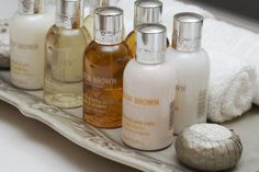 Love everything Molton Brown - especially the Heavenly Gingerlily scent.