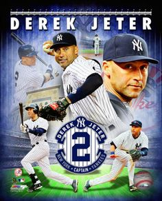 Derek Jeter Captain Forever New York Yankees Premium Poster Print - Photofile 2014