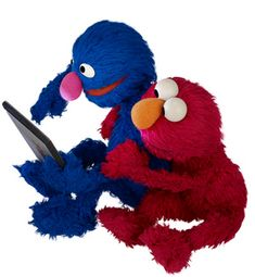 Wondering How to Create a Great Tablet App for Kids? Ask Grover and Elmo.