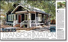 Fine Homebuilding - Texas Transformation
