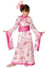 Asian Princess Kinderkostüm aus der Kategorie Karnevalskostüme Kinder. Mit diesem wunderschönen Faschingskostüm verwandelt sich Ihre Kleine in eine traumhafte Geisha. Ein atemberaubend schönes Kostüm für Mädchen, das die Blicke scharenweise auf sich zieht!