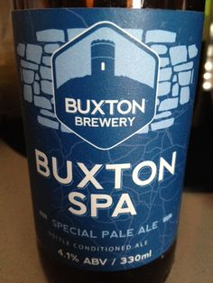 Buxton SPA Brewed by Buxton Style: Golden Ale/Blond Ale Buxton, England