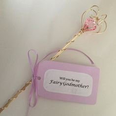 A Perfect gift for asking someone to be your godmother. Why not a /fairy godmother?