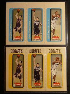 2004-2005 #Fleer Tradition #KrisHumphries Kirk Snyder Rookie Card #LOT #RC Draft Day #/375 http://r.ebay.com/M2lggV @eBay #nba #basketball