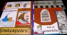 Renaissance 1300 to 1600 lap book with printables