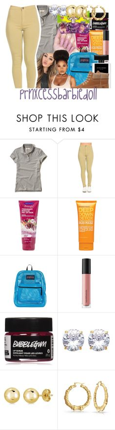"""Next Next Year: 8th Grade"" by prnxcessbarbiedolll ❤ liked on Polyvore featuring Hollister Co., ULTA, JanSport, Bare Escentuals, BERRICLE, Bling Jewelry and Timberland"