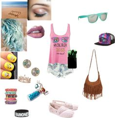 """""""Spring Break ❤"""" by kaitlin-medrano ❤ liked on Polyvore"""