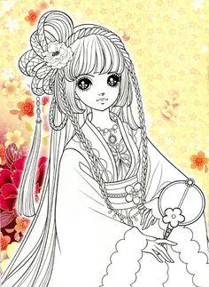 Korean Coloring Book - red - Mama Mia - Веб-альбомы Picasa