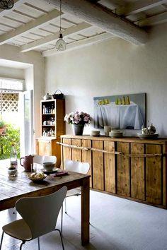 WABI SABI Scandinavia - Design, Art and DIY.: Country kitchen style