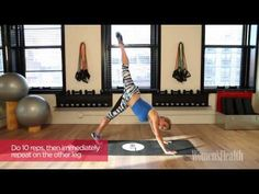 6 Exercises for Getting Fit and Sexy Fast by Anna Kaiser AKT in Motion - YouTube