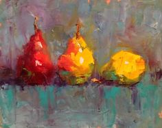 """Siesta, - Original Fine Art for Sale - © Ann Feldman Apple Painting, Fruit Painting, Oil Painting Abstract, Painting Still Life, Still Life Art, Paintings I Love, Vegetable Painting, Sketch Painting, Fruit Art"