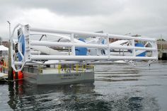 Tidal Power Advancing #renewableenergy from ocean waves. With the nation's first commercial, grid-connected underwater tidal turbine successfully generating renewable energy off the coast of Maine for a year