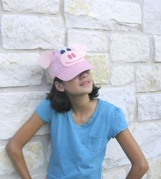 Pig pink costume accessory for child or adult by BBBsDesigns, $12.00