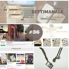 Rubrica settimanale di #cosebelle dal web. Questo lunedì si parla di gioielli insoliti, nail art, make up e di sconti sull'artigianato.
