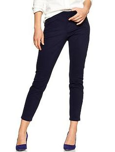 Ultra skinny pants in navy.  the only pants that fit me!