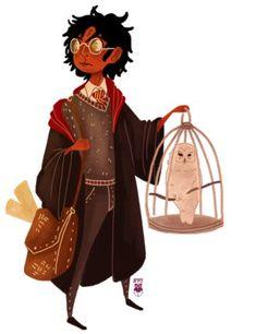 'Harry Potter': Personagens ganham vers�o negra