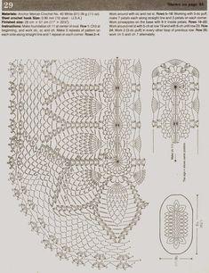 Kira scheme crochet: Scheme crochet no. 286