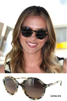 Las gafas redondas están de moda! que te parece este modelo de Cacharel que tenemos en exclusiva en Natural Optics?