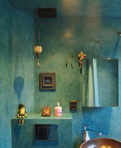 ClayLime rivestimento naturale Pareti bagno realizzate in ClayStone ...