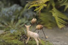 Поделки из природных материалов, на которые так богата Осень. Fall craft ideas - acorn andwalnutdeer,pinecone owl and hedgeh...