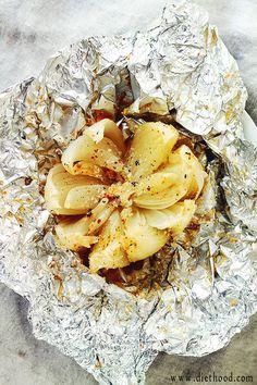 BBQ blooming onion