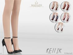 The Sims Resource: Madlen Rellik Shoes by MJ95 • Sims 4 Downloads