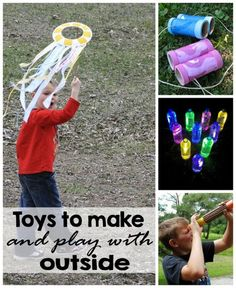 Things to Make and Play with Outside, Photo Credit: Amanda Formaro, Crafts by Amanda