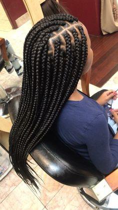 box braids medium * box braids + box braids hairstyles + box braids medium + box braids with color + box braids hairstyles for black women + box braids with curly hair + box braids styling + box braids with curly ends Black Box Braids, Box Braids Hairstyles For Black Women, Blonde Box Braids, Black Girl Braids, African Braids Hairstyles, Modern Hairstyles, Large Box Braids, Boho Hairstyles, 2 Braids