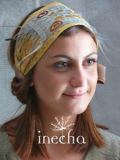 headband from :  http://www.boutiqueenboheme.blogspot.com/