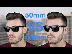 f1482f8c0ce Ray-Ban Wayfarer 50mm vs 54mm Size Comparison – Sunglasses Offers