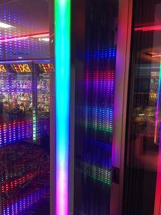 "0manko: ""LED Mirrors at Pink Flamingo, Norfolk """