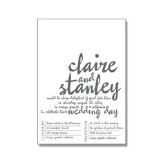 CLAIRE Suite Basic Package - Just Invite Me 25% OFF WITH COUPON CODE {MARCH25} Rustic Wedding Invitations, Handwriting Wedding Invitations, Letterpress Wedding Invitations, Digital Wedding Invitations, http://justinviteme.com/collections/on-sale-now