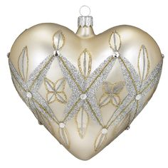 Waterford - Lismore 60th Christmas Heart Ornament