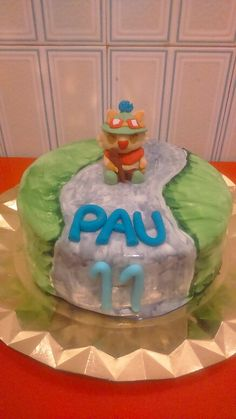 TEEMO cake