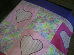 Katie's quilt made with love...