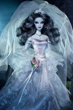HAUNTED BEAUTY ZOMBIE BRIDE Gold Label Barbie Doll