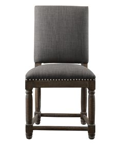 Loving this Gray Dining Chair - Set of Two on #zulily! JLA HOME
