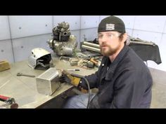 Josh Welton of Brown Dog Welding and friend Keith Strong, owner of Ice Nine Group, have partnered up on a motorcycle build that will incorporate Welton's art. Stick Welding Tips, Mig Welding Tips, Welding Videos, Welding Tig, Welding Table, Dremel Projects, Welding Projects, Tig Welding Aluminum, Welding For Beginners