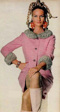 Model Francoise Rubartelli 1967 Ben Zuckerman