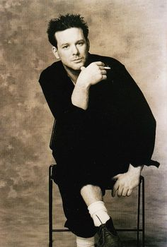 He is supposed to be mean but young Mickey Rourke was so good looking!